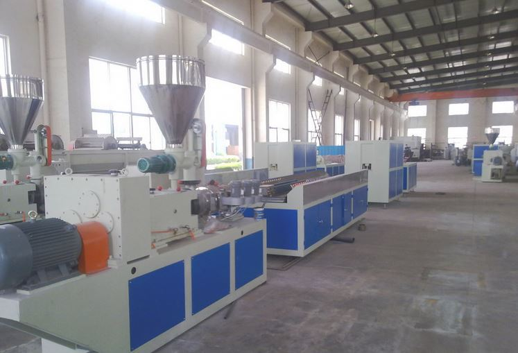 price of pvc fascia board machine