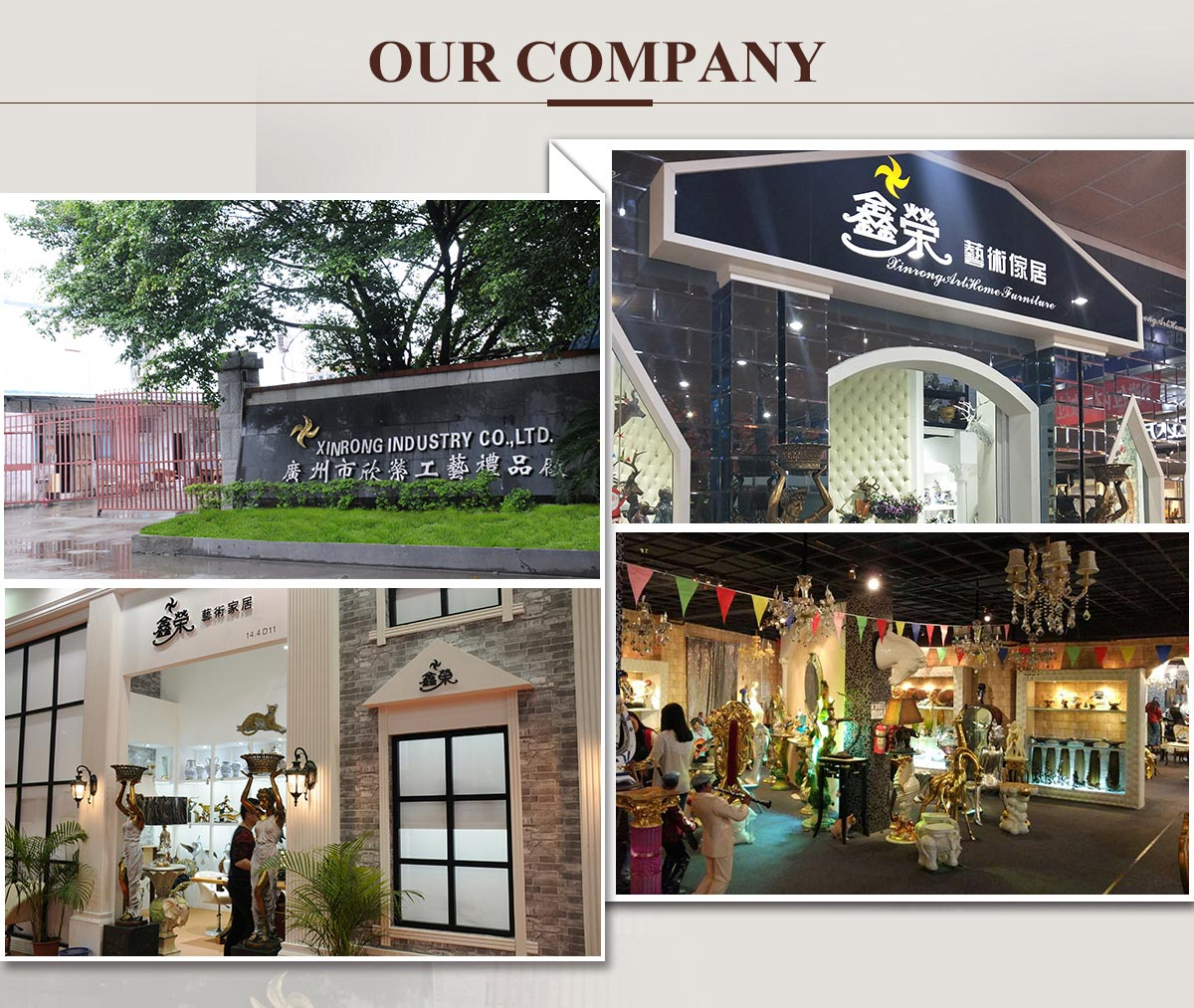Guangzhou Baiyun Xinrong Arts And Crafts Factory Polyresin  # Muebles Full Hause