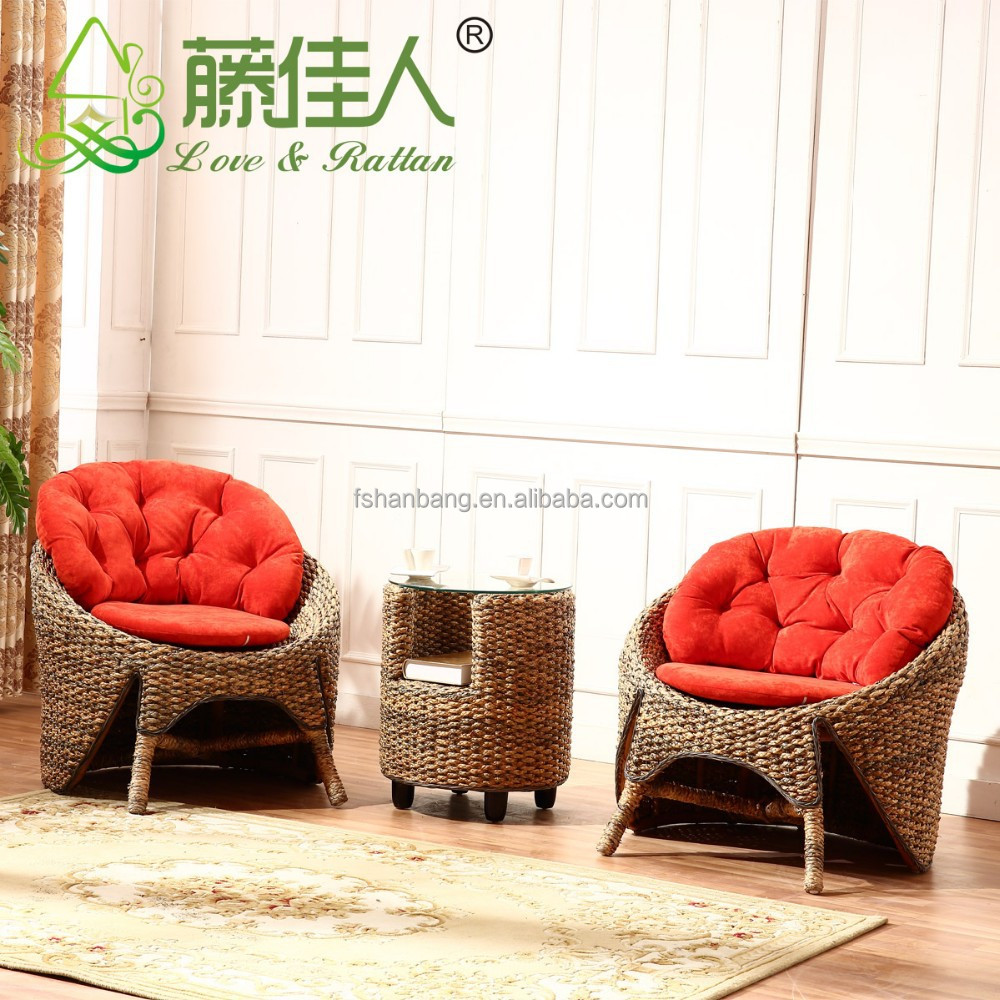 hotsale design modernem luxus rattan seegras sofa im wohnzimmer m bel rattan korbm bel set. Black Bedroom Furniture Sets. Home Design Ideas