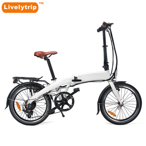 2018 High quality hot selling light weight 20 inch folding electric bike small foldable ebike