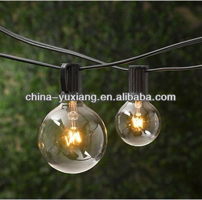 25ct G40 Globe Patio String light