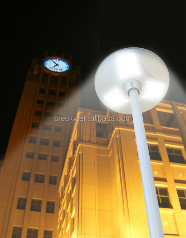Guangzhou Super Bright All In One Solar Garden Light Led Courtyard Light