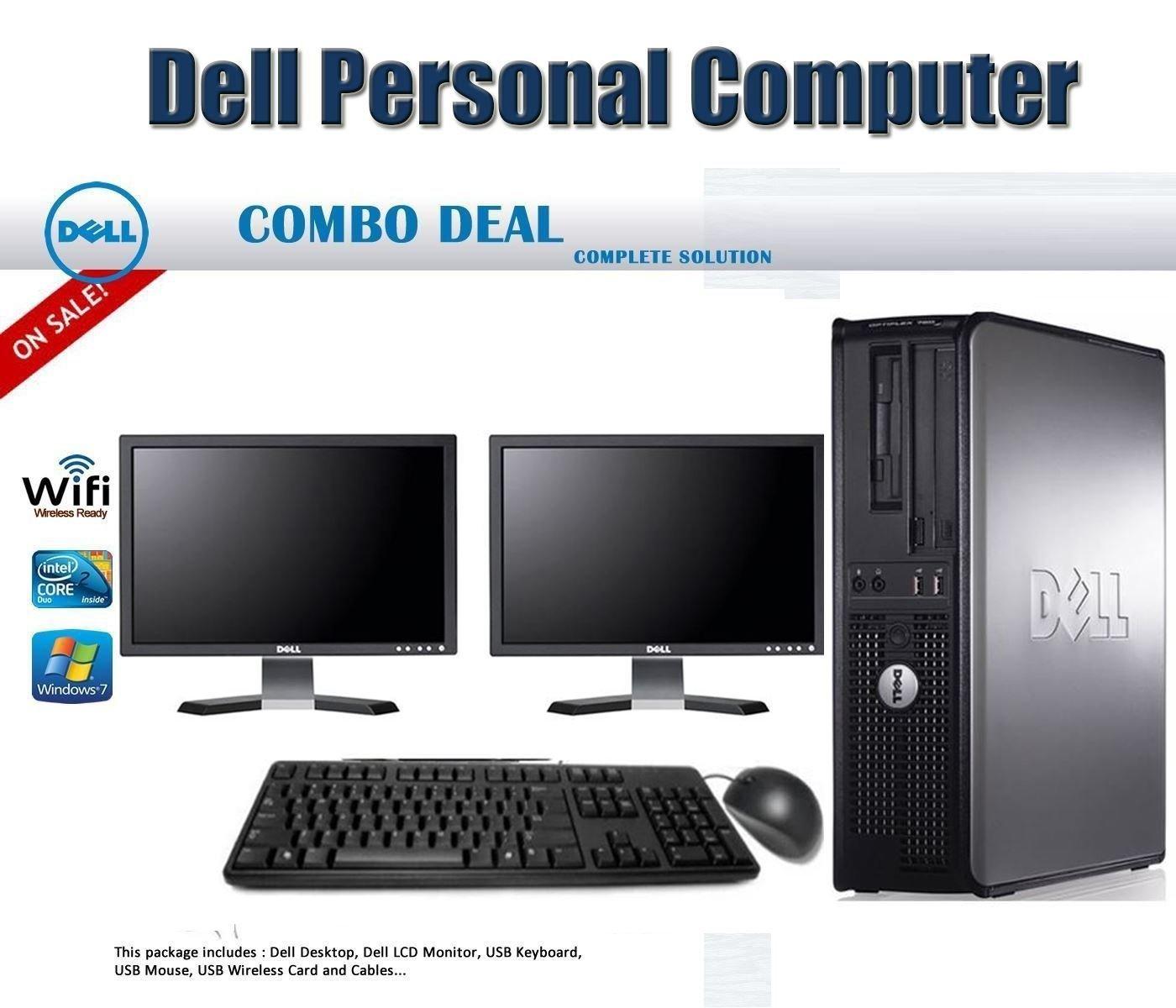 Buy Dell OptiPlex 780 Desktop Computer Package with Intel