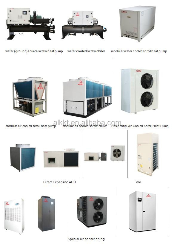 Industrial Commercial Water Cooled Screw Chiller/Water Cooler