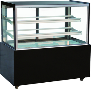 Fan cooling refrigerated bakery display cases/front open cake fridge CE