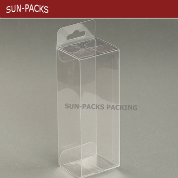 6a7b1183391 Small Rectangle Clear Plastic Pvc pp pet Packaging Folding Box - Buy ...