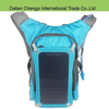 Tactical high capacity travel hiking nylon solar backpack