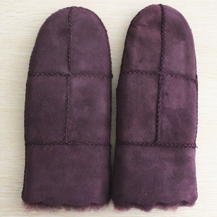 ladies leather gloves & mittens double face women