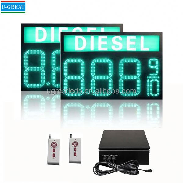 Alibaba.com in russian wireless big size IP65 outdoor pricer ali express led electronic signs