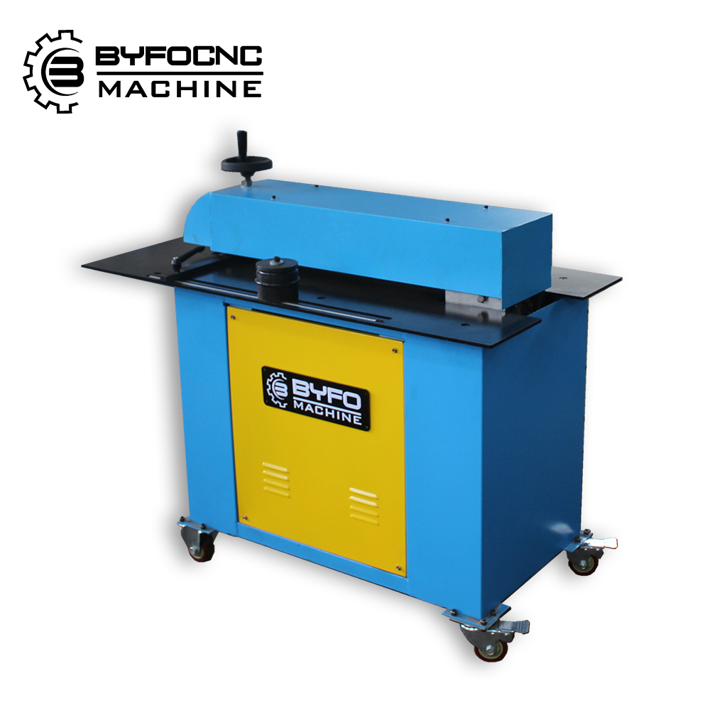 Cheap and fine hvac air duct sheet metal slitter shear and beading machine