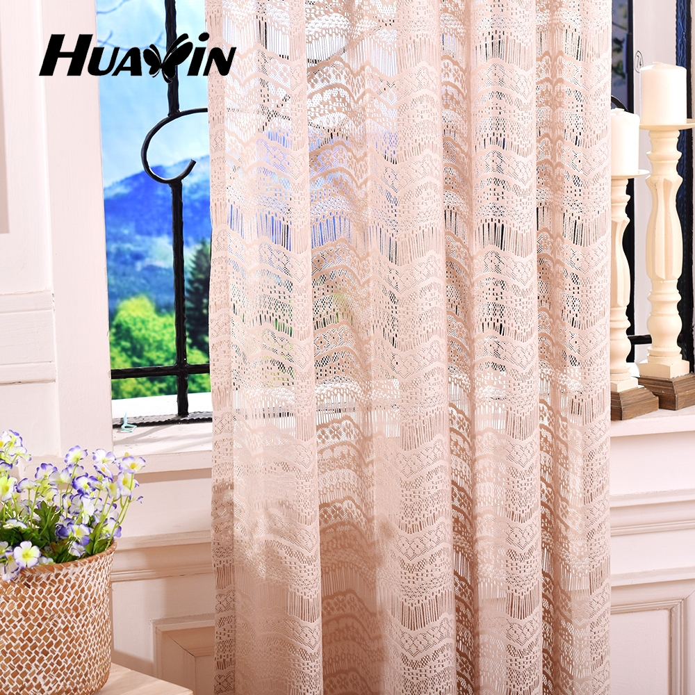 treatments free pattern curtains window size curtain handmade full knitted