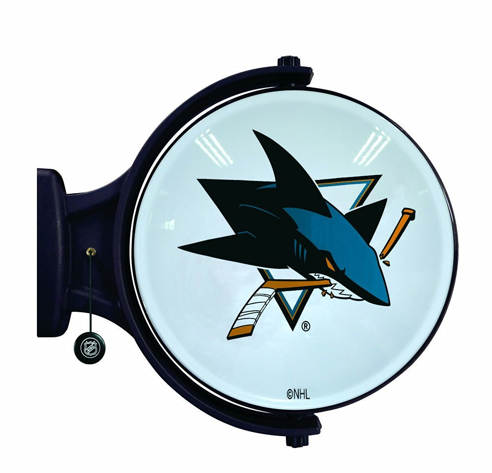 NHL San Jose Sharks Revolving Wall Light