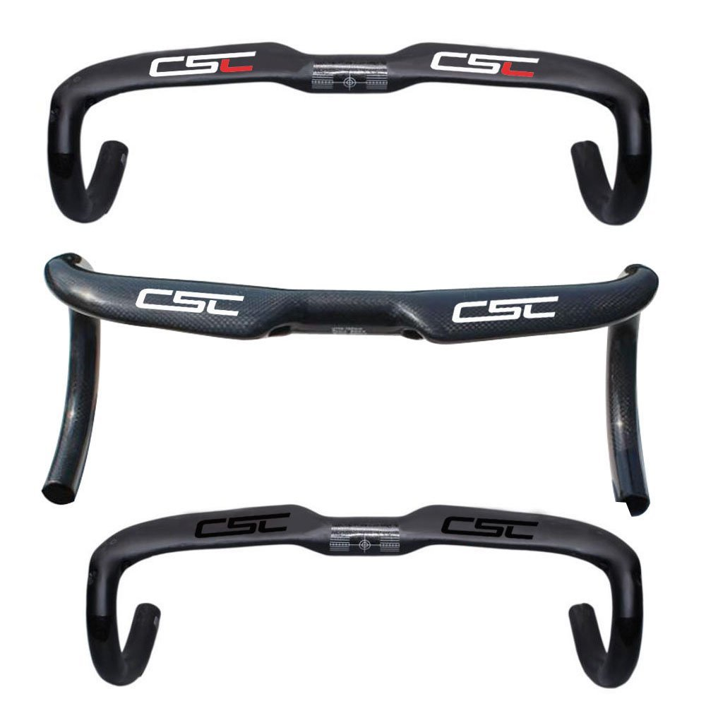 Platt Road Bike Handlebars Carbon Fiber Drop Bars 31.8mm Bicycle Handlebar Aero Handlebars 420//440mm,UD//3K Matte