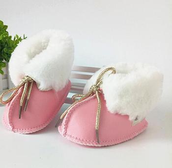 Baru Lahir Bayi Perempuan Sepatu Buatan Tangan Yang Indah Sepatu