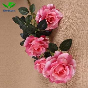 Wholesale cheap fake artificial wild single pink rose flower for wholesale cheap fake artificial wild single pink rose flower for wedding decoration mightylinksfo