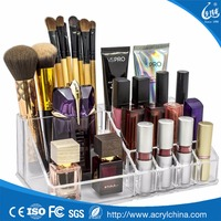 Acrylic Cosmetics Makeup and Jewelry Storage Case Display Acrylic Bathroom Organizer