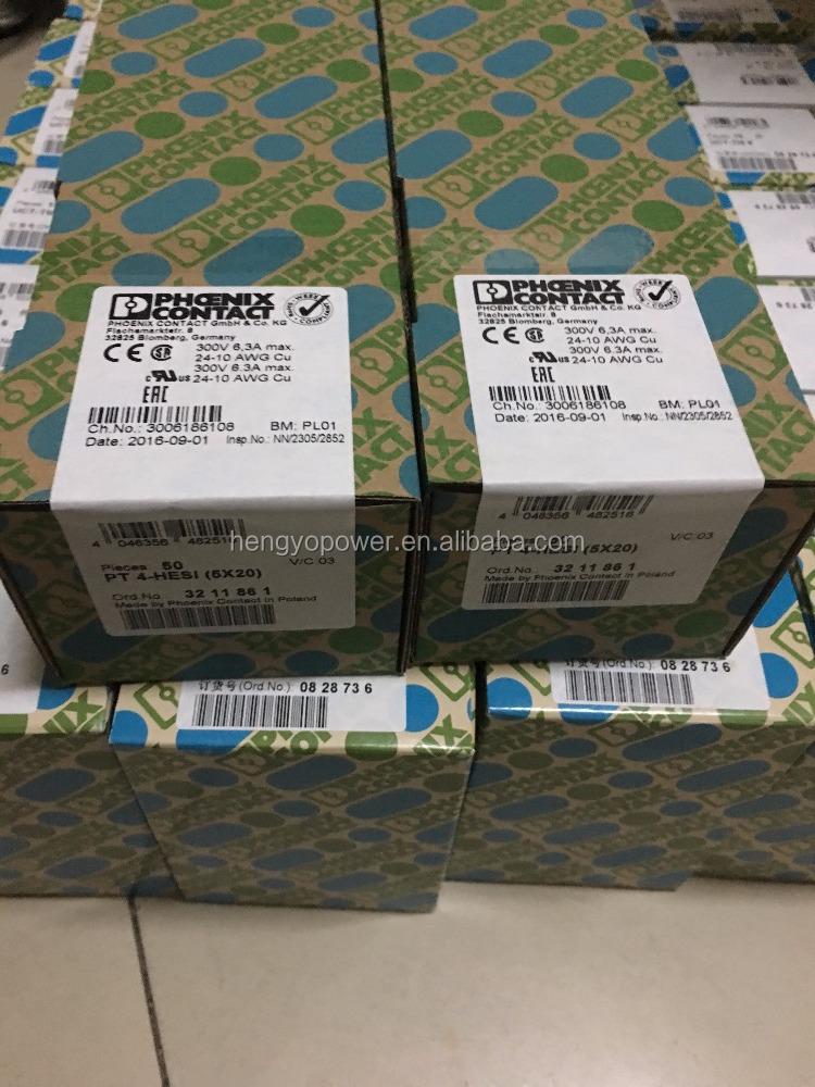 LOT OF 10 NEW SURPLUS 5X20 Terminal Block Phoenix Contact