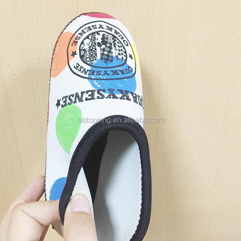 5e040a4e73b9 Anti-slip water neoprene beach aqua shoes jelly water diving neoprene socks  shoes swim