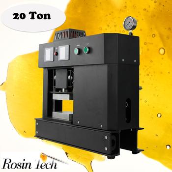 high pressure pneumatic heat electric rosin tech press for cannabis