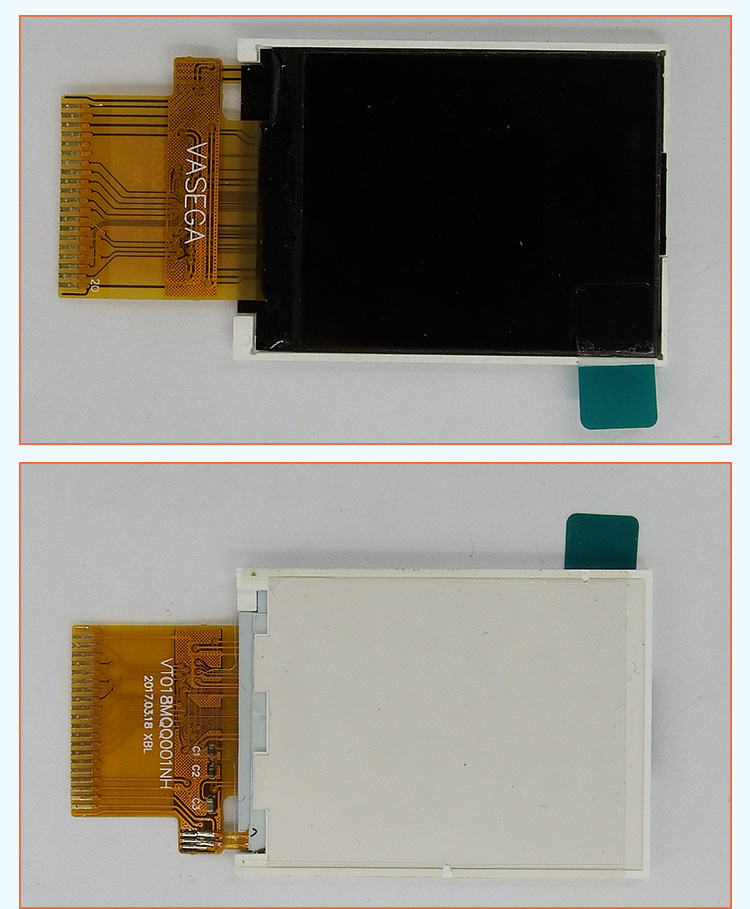 "TCC(018MQQ001NH)1.8"" small color lcd module 128x160 tft display panel ILI9163C 20-pin parallel screen tft lcd 1.8"