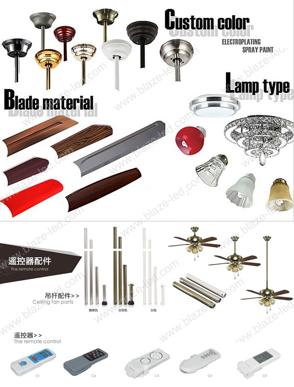 led light bulbs ceiling fan wood hidden blades modern