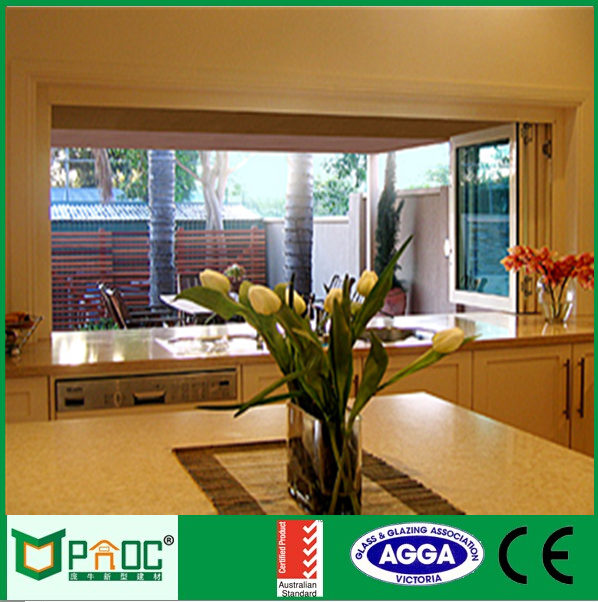 residential windows Electric House bi-folding Window