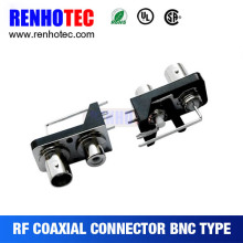 Hot sale pcb mount use female bnc to rca jack converter