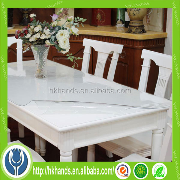 Hot transparante pvc tafel pad met zachte matten en pads product id 60066771883 - Transparante plastic tafel ...