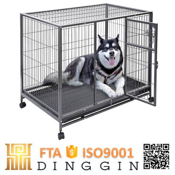 Pet display hollow tube dog kennel