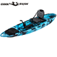 Newest 10 foot sit on top fishing kayak pedal drive
