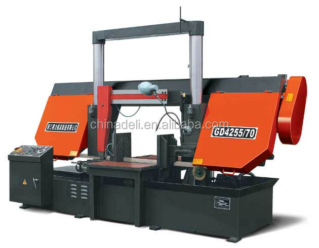 Horizontal Steel Cutting Bandsaw machine GD4255/70 Service Machinery Overseas