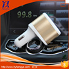 wholesale cellphone 2 port charger luxury car charger 5v 2.1a + 1a dual charger car usb