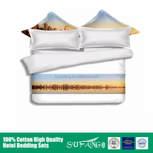 2017 popular wholesale Dubai comforter 100% cotton textile