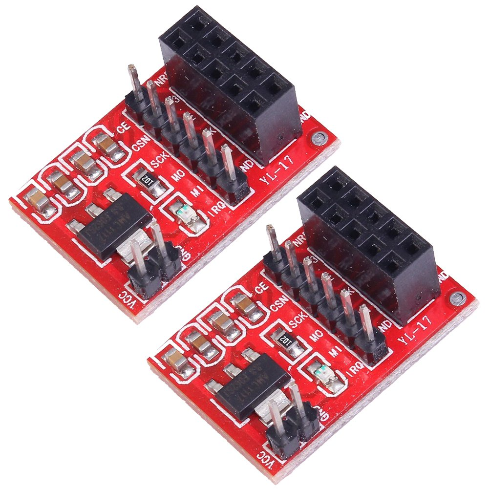 Cheap 3 3v Voltage Regulator Circuit Find Positive With Pnp Boost Get Quotations Icstation Nrf24l01 Wireless Transceiver Adapter Board 10 Pins Dip 33v Pack Of