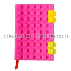 Silicone Notebook Cover wholesale Blocks Silicone Book Cover
