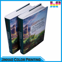 hot sale and competitive price round back hardcover book printing