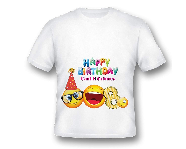 Personalized Emoji Birthday T-Shirt, Emoji Birthday Shirt, Emoji Tee Shirt, Printed Emoji Shirt, White Emoji TShirt, Birthday Shirt, Emoji Custom Shirt, Custom Shirt, emoji party shirt
