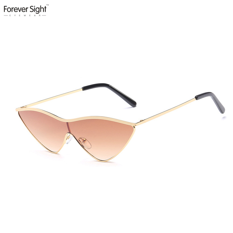New Design Cat Eye Hot Selling Wholesale Cheap Ladies Metal Sunglasses