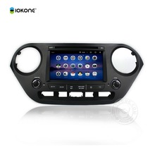 OEM Price IOKONE UI 2Din Android 5.1 Car Stereo for HYUNDAI I10 2014-2015 Built-in AM/FM Radio, RDS for optional