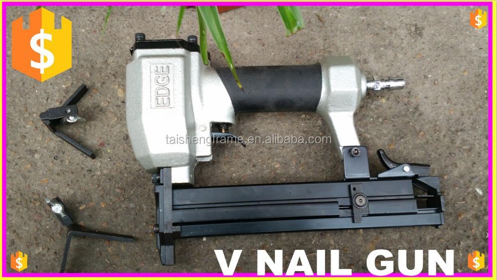 Edge Hand Vnailer Frame V Nail Gun Underpinner - Buy V Nail Gun ...