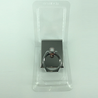 Eco-Friendly Design silvery stainless steel cell phone accessory display stent Applicable to all phone type
