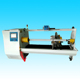Adhesive tape cutting machine with 450 paper cutter
