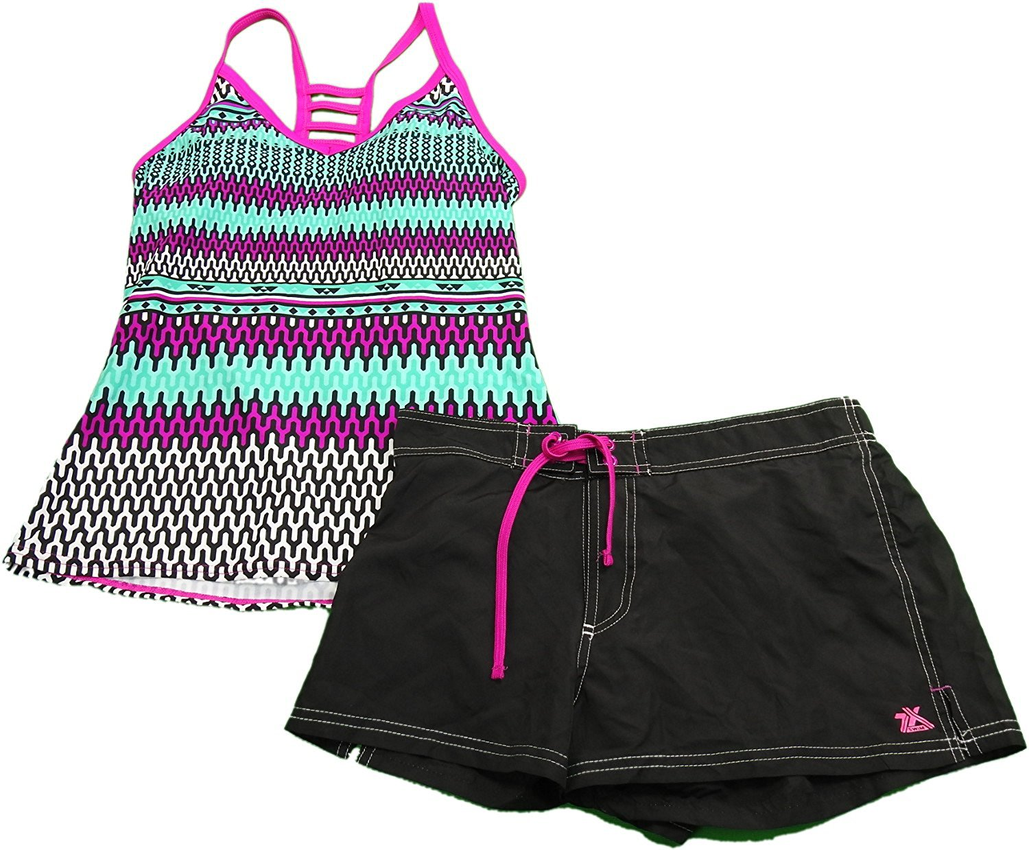 b0a29d073c Cheap Ladies Tankini With Shorts, find Ladies Tankini With Shorts ...