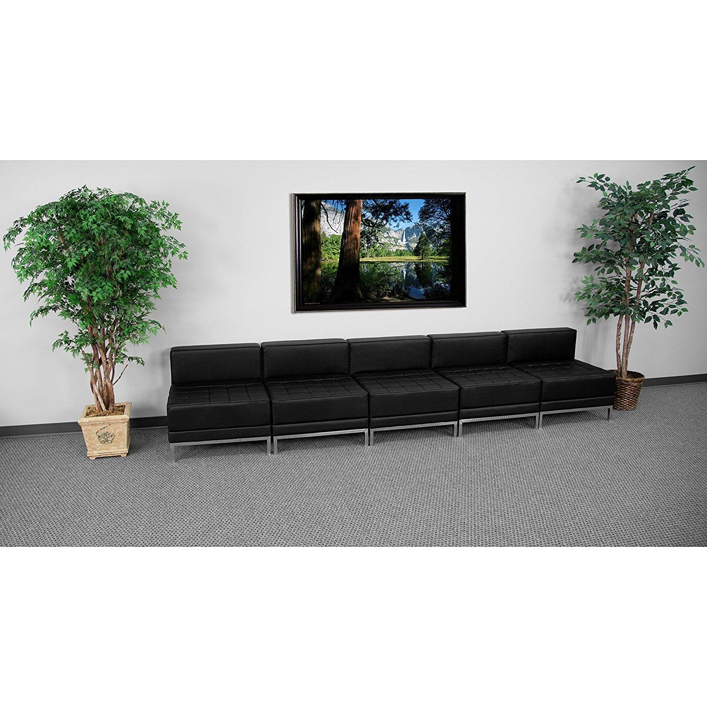 Sensational Buy 5 Pieces Black Modern Modular Sectional Sofas In Cheap Evergreenethics Interior Chair Design Evergreenethicsorg