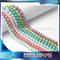 Customized tahitian shell pearl beads for necklace earring ring display