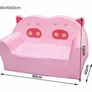 Pig Stuffed Baby Animal Sofa Chair For Kids