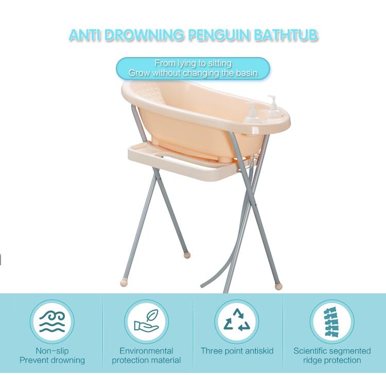 Durable Folding Baby Bathtub,Baby Bath Tub With Stand - Buy Baby ...