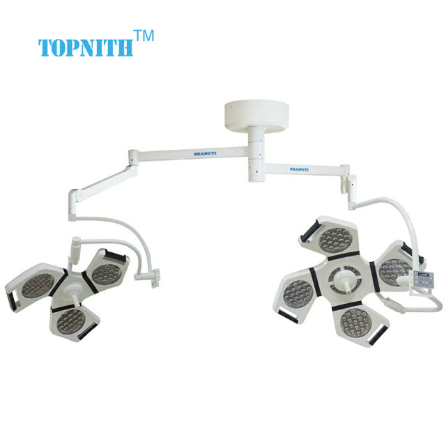 6 hours Mobile AC DC LED Bulb Emergency OT Light Surgical With Casters
