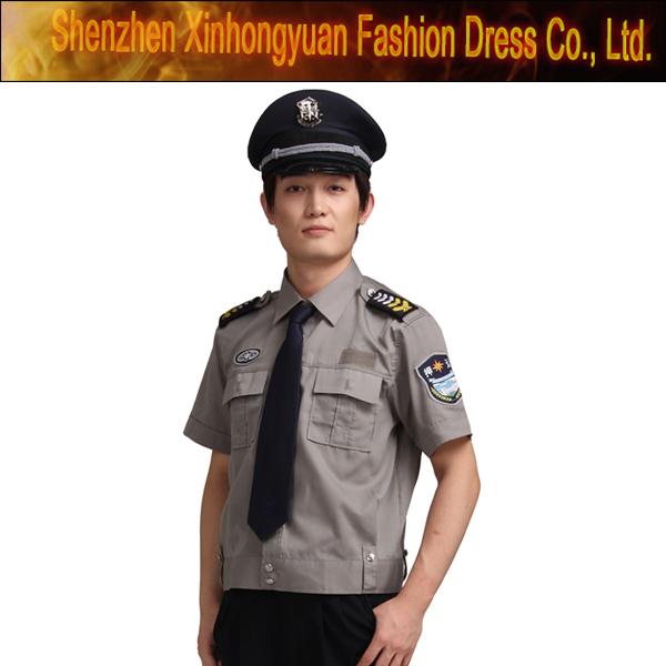 Short Sleeve Security Guard Military Uniform - Buy Security Guard Military  Uniform,Best Security Uniform,Security Guard Uniforms Black Product on