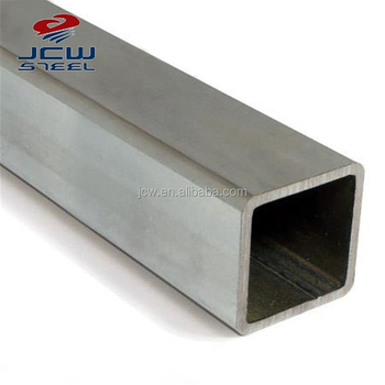China steel tubes ! Galvanized steel tube / square pipe size 50 x 50 x 2 galvanised square tube